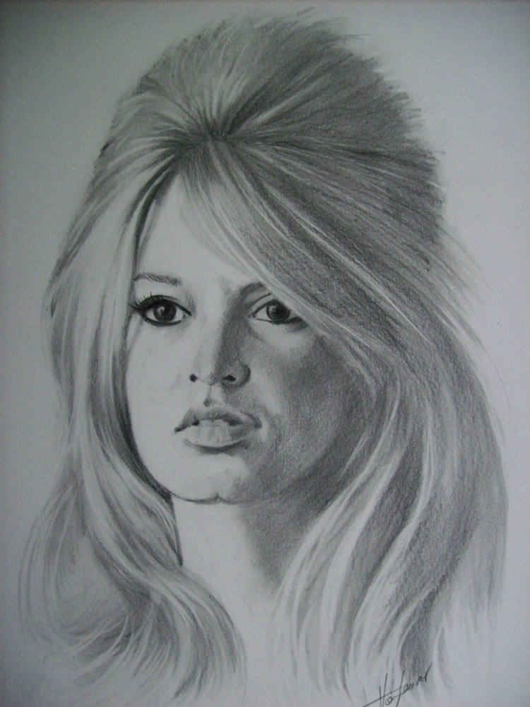 Brigitte Bardot by Tom-Heyburn